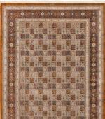فرش ۱۲متری طرح خشتی گلستان کد:۹۷۲۷۶۹